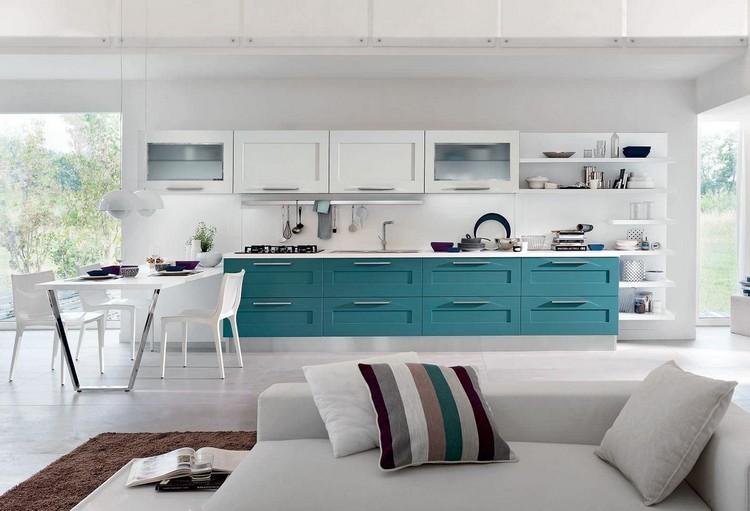 cocina-moderna-turquesa-blanco