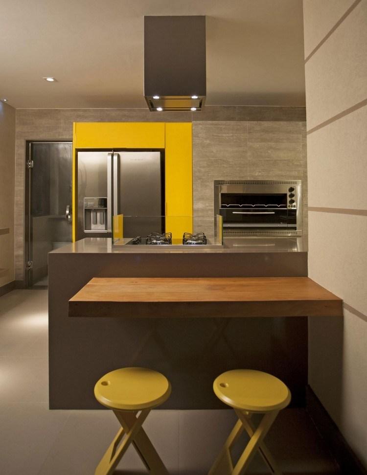 decoracion-de-cocinas-amarillas