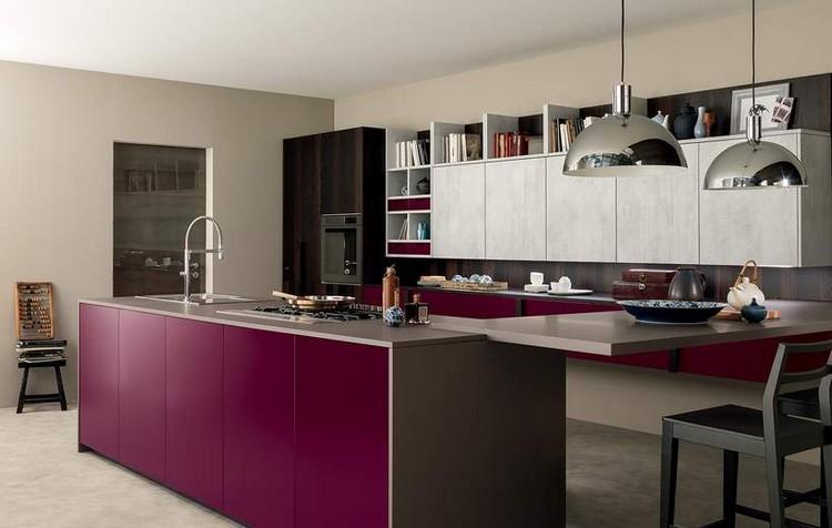 diseño-cocina-burdeos-gris