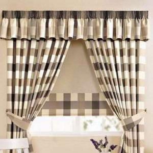 cortinas-para-la-cocina-ajedrezadas