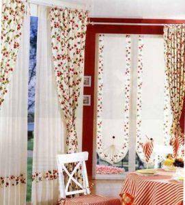 cortinas-para-la-cocina-con-flores